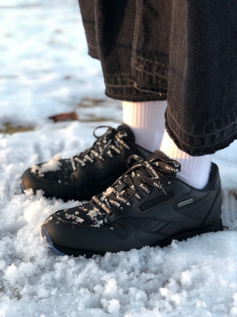 Reebok CLASSIC×Raised by Wolves -GORE-TEX-