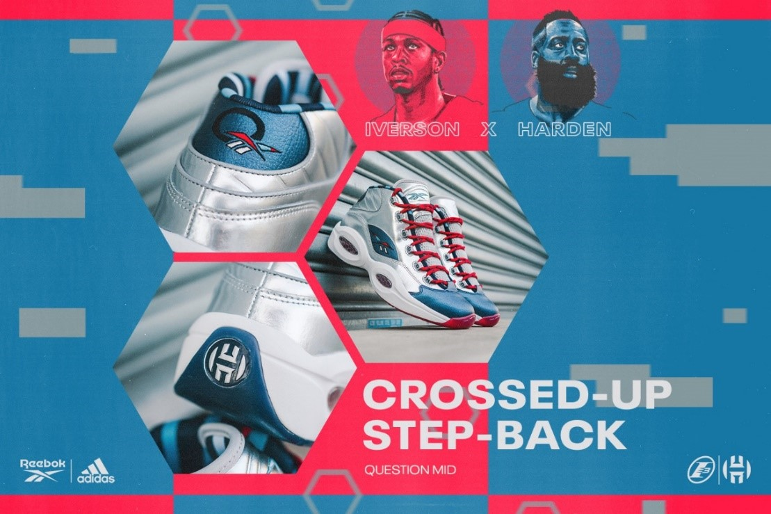 "「IVERSON X HARDEN QUESTION MID ""CROSSED UP, STEP BACK""」2020年9月4日(金)発売"
